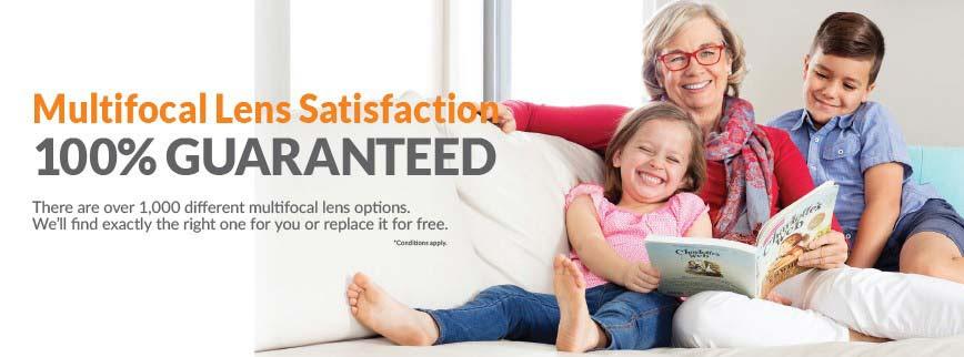 multifocal comfort guarantee