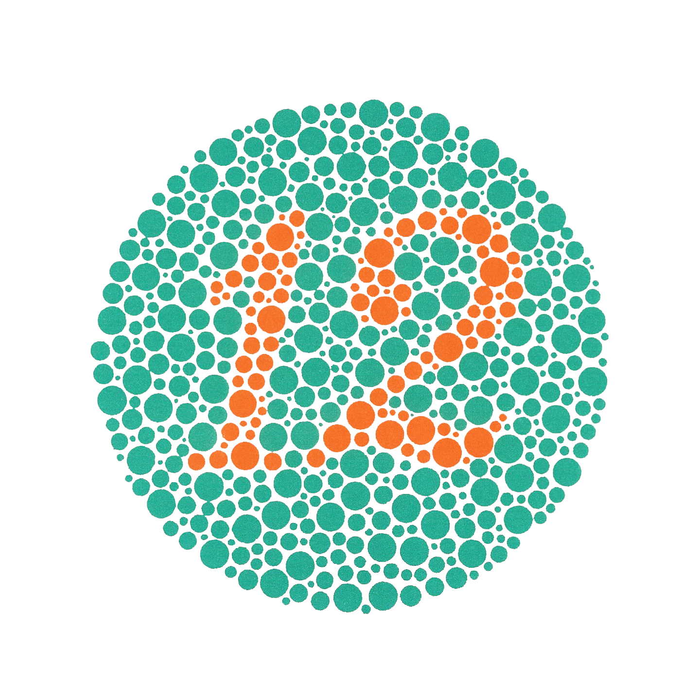 ishihara colour blind test