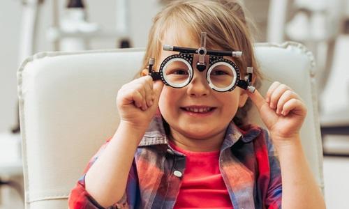 Children's Vision Testing