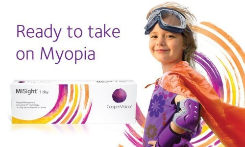 Ready to take on myopia